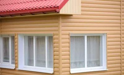 Одно из достоинств пластикового блок-хауса - обширная цветовая гамма