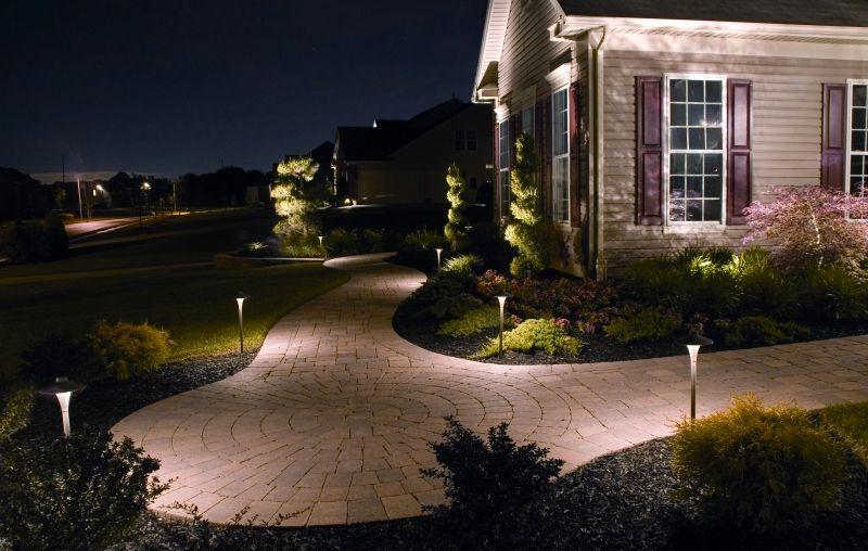 Iluminacion exterior jardin solar