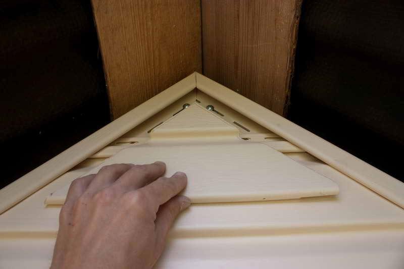 Обшивка фронтонная имеет большое значение для оформления фасада здания. Выбор отделки может быть любым, но чаще всего применяется облицовка сайдингом