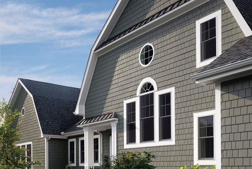 удалить цементный сайдинг для обшивки дома подогревом: