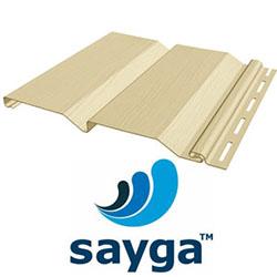 Виниловый сайдинг «Sayga» — твёрдое покрытие в форме панелей из ПВХ