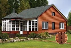 Виниловый блок-хаус – практичное и выгодное решением для оформления современного дома