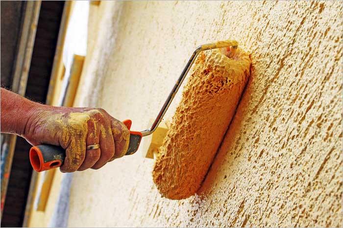 Cиликоновые краски более экологичны, и при работе не требуется соблюдения особых мер предосторожности