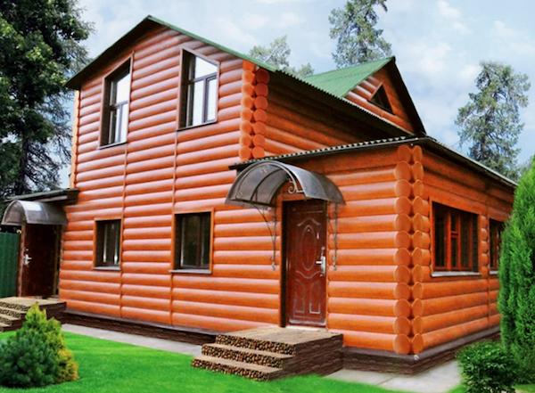 Особого внимания заслуживает сайдинг под бревно «Holzblock», который выделяется прекрасным качеством и доступной ценой