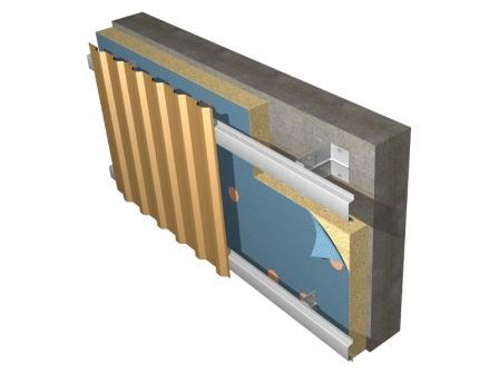 Облицовочный профлист используется преимущественно для отделки производственных зданий