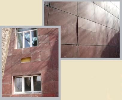 Ошибки в монтаже фасада  могут привести к многим неприятным последствиям