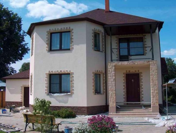 Жидкое пробковое покрытие является очень перспективным и современным видом отделки фасадов зданий