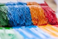 Силикатная и силиконовая краски являются наиболее современными фасадными отделочными материалами