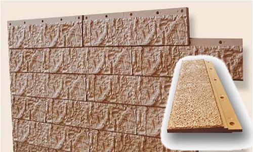 Цементный сайдинг достаточно редко используется в отделке индивидуальных жилых строений из-за значительного веса