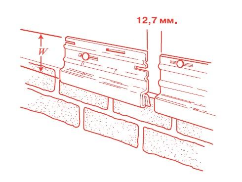 Стартовая полоса или планка, необходимая для монтажа нижней сайдинговой панели