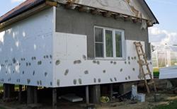 Выполнение теплоизоляции фасада с применением пенопласта является достаточно лёгкой задачей