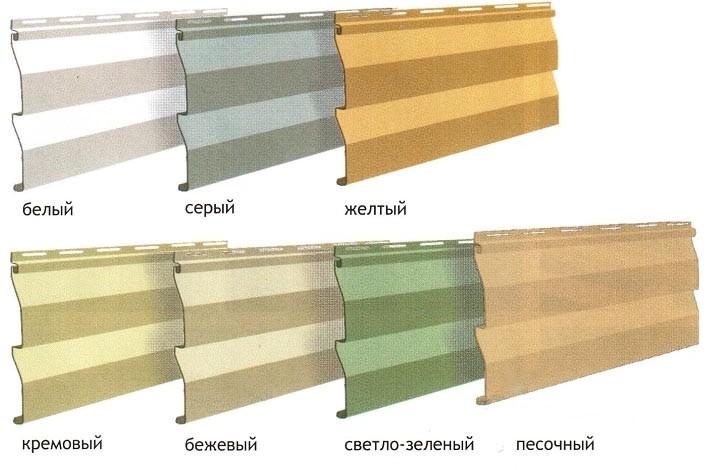 Качественный виниловый сайдинг имеет определенные качественные характеристики и технические параметры