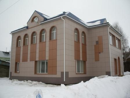 Фентфасады из керамогранита все чаще применяются при частном строительстве