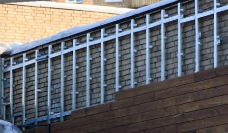 Все чаще вентфасады используются при реконструкции частных домов