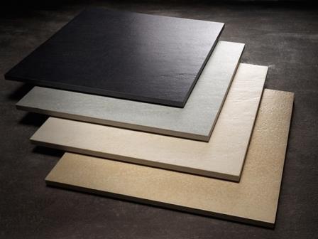 Керамогранит – очень твердый и прочный материал. Монтируется либо на клей, либо на стальную подсистему