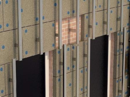 Максимально прочный каркас – из стали. Необходим для тяжеловесных панелей