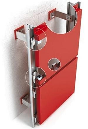 Система вентиляции фасада предусматривает улучшение теплоизоляции и удаление конденсата