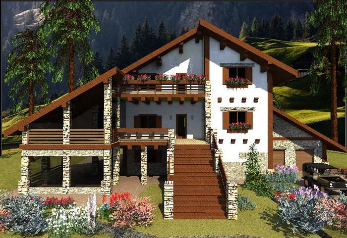 Хороший вкус хозяина подчеркнет окрашивание фасада дома в светлые оттенки. Строения таких оттенков выглядят освещенными и уютным