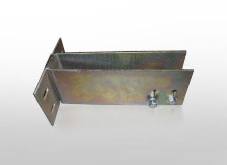 Основной несущий и крепежный элемент вентилируемого фасада - кронштейн