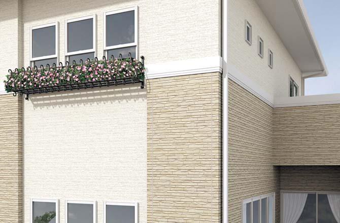 Для оформления здания можно применять новый тип панелей – фиброцементные изделия, выполненные при помощи нанотехнологий