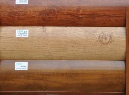 Расцветки подобраны под цвет и фактуру древесины различных пород